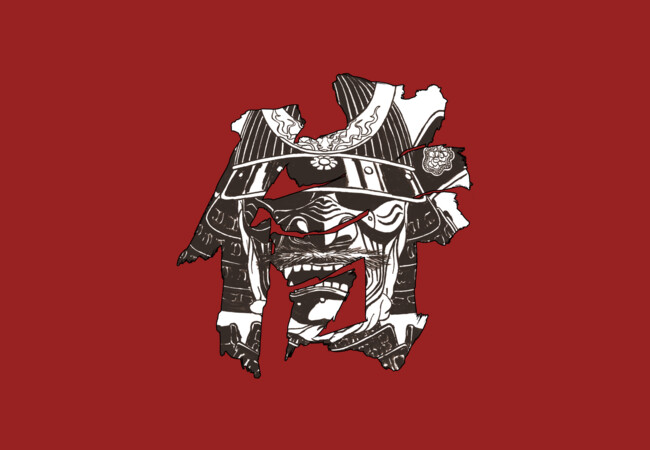 Samurai Mask  Artwork