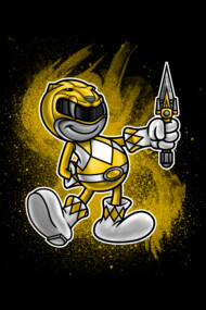 Vintage Yellow Ranger
