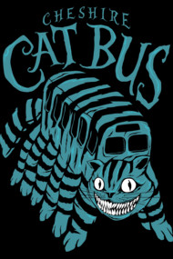 CHESHIRE CAT BUS