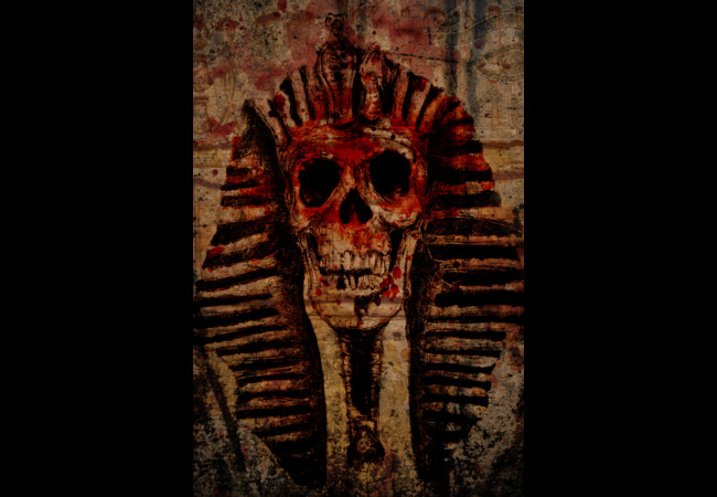 Pharaoh Skull  Artwork