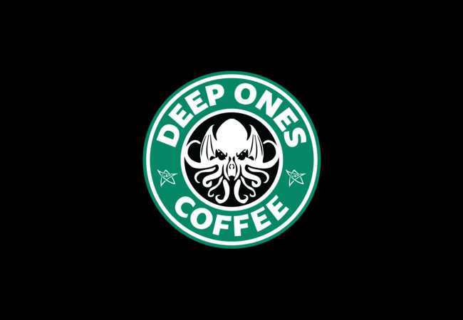 Deep Ones Coffee  Artwork