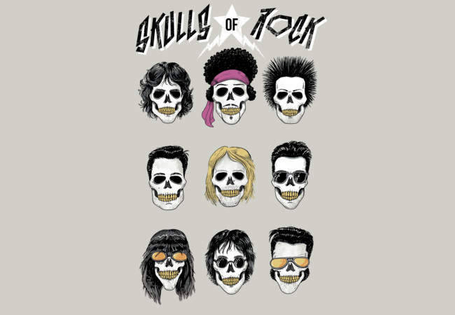 Skulls Of Rock  Artwork