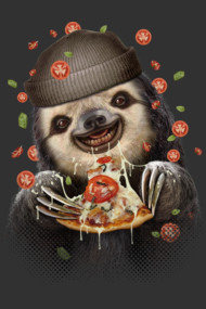 SLOTH LOVES PIZZA