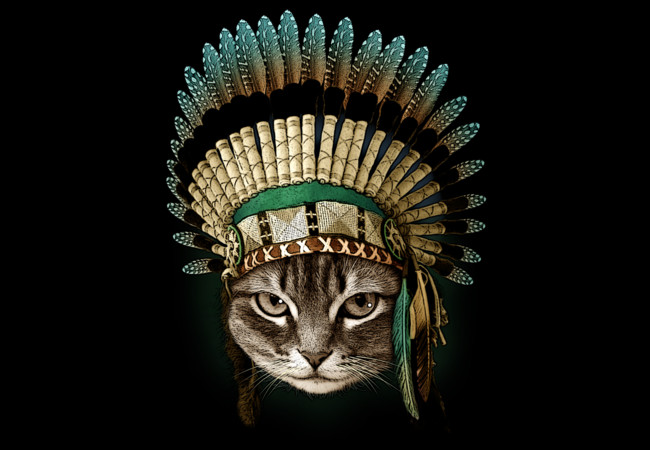 THE CHIEF CAT  Artwork
