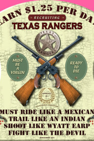 TEXAS RANGERS WANTED