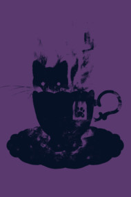 Having Tea With my lovely cat