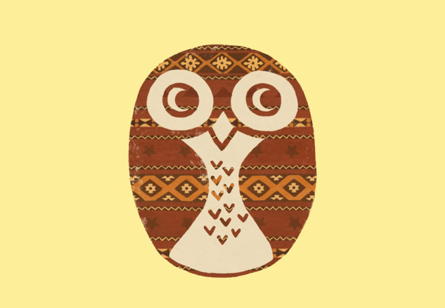 Navajo Owl  Artwork