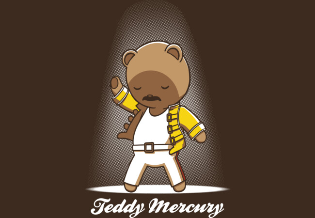 Teddy Mercury  Artwork