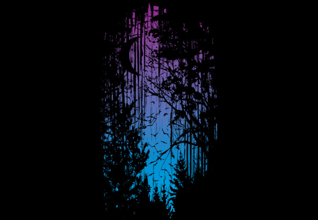 Technicolour Forest  Artwork