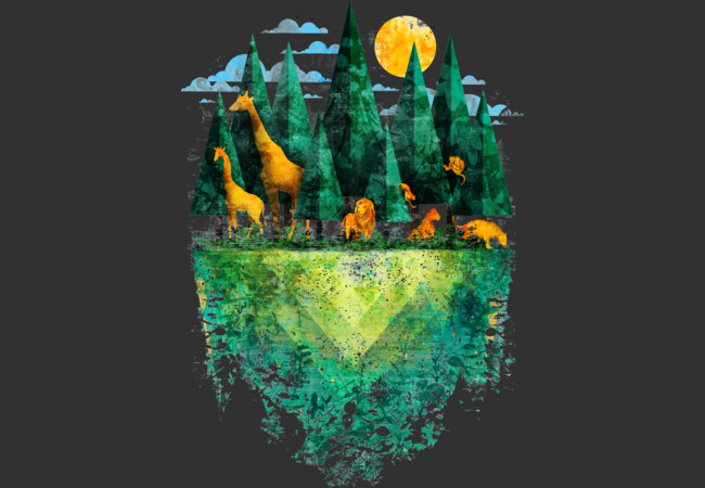 Geo Forest  Artwork