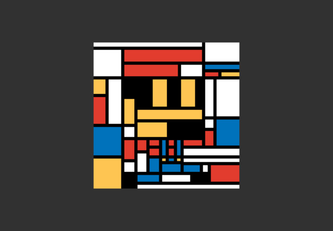 Super Mondrian  Artwork