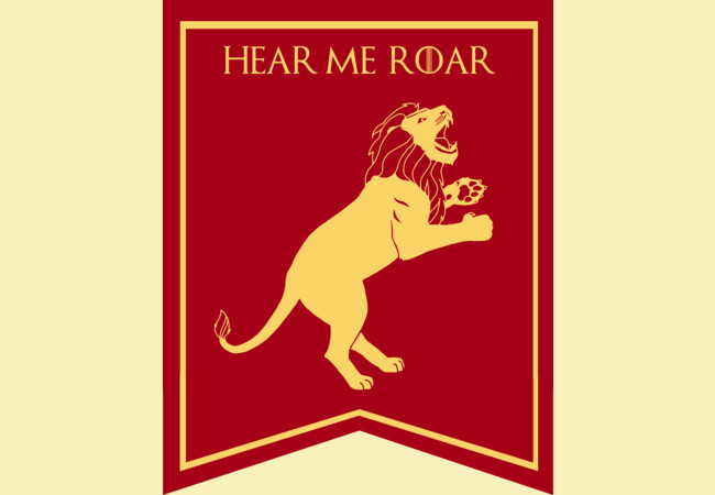 GOT House Lannister Sigil  Artwork