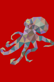 Octopus Low Poly