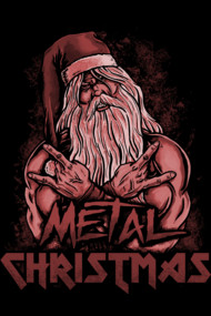 Metal Christmas (Red)