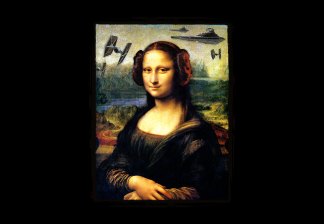 Mona Lisa versus the Empire  Artwork