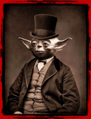 Portrait of Sir Yoda
