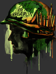 ART IS MY WEAPON