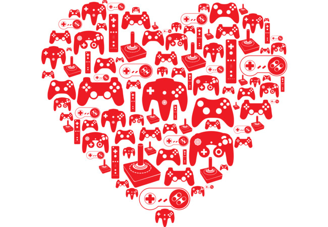 Gaming Love  Artwork