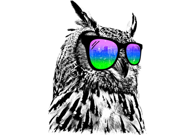 Cool Owl  Artwork