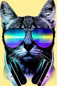 Music Lover Cat