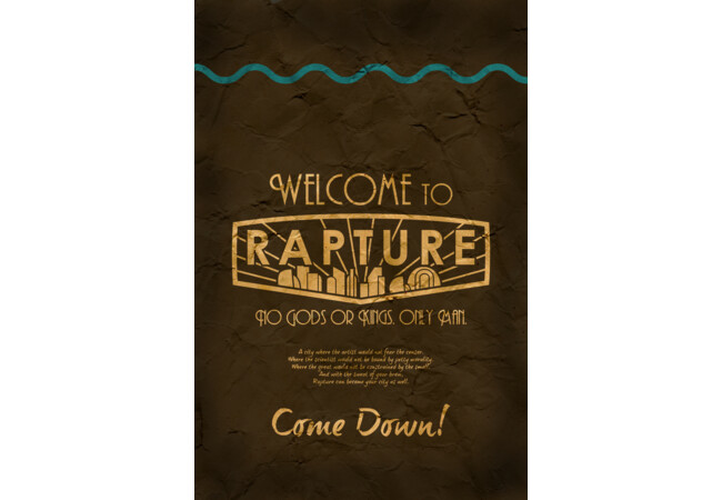 Bioshock Welcome to Rapture  Artwork