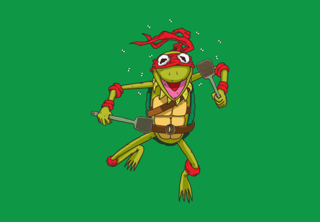 Teenage Muppet Ninja Frog