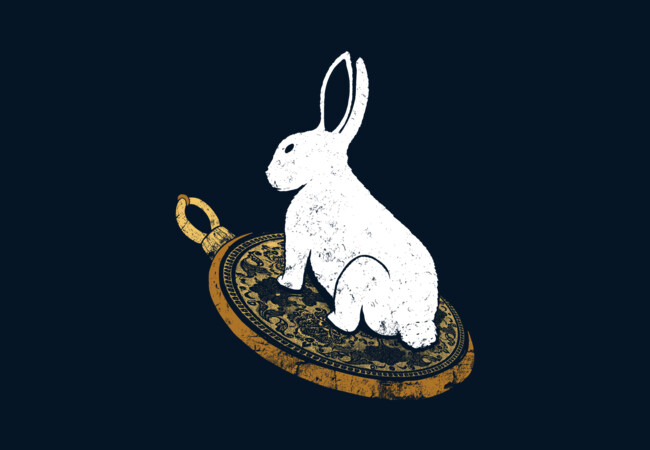 Follow the White Rabbit  Artwork