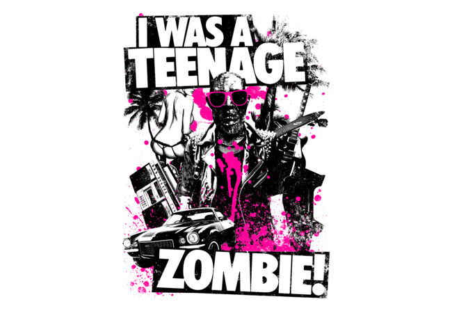 Teenage Zombie  Artwork