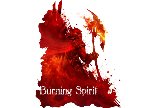 Burning spirit  Artwork