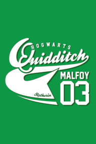 Quidditch Malfoy Athletic Tee