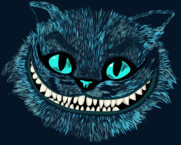 Cheshire Cat blue