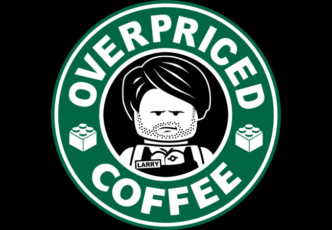 Overprices Coffee  Artwork