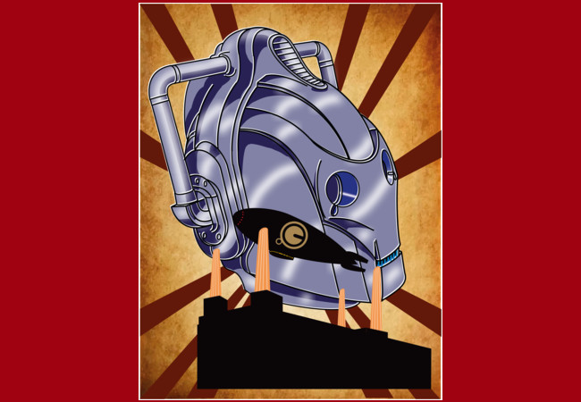 RISE OF THE CYBERMEN  Artwork