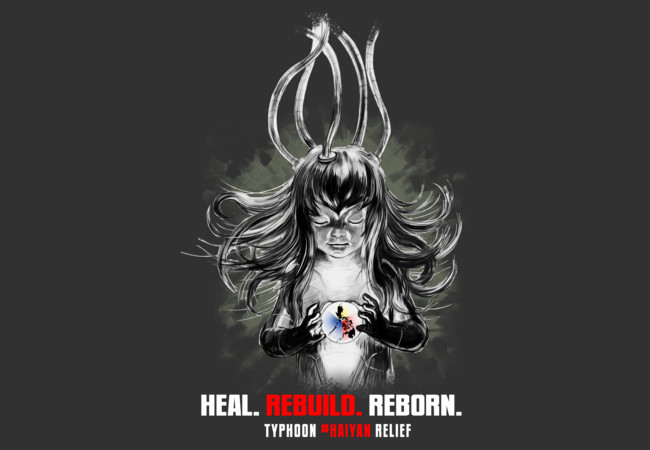 Heal Rebuild Reborn by dibuholabs  Artwork
