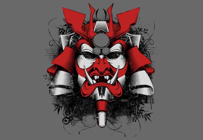 Samurai Mask of Doom!  Artwork