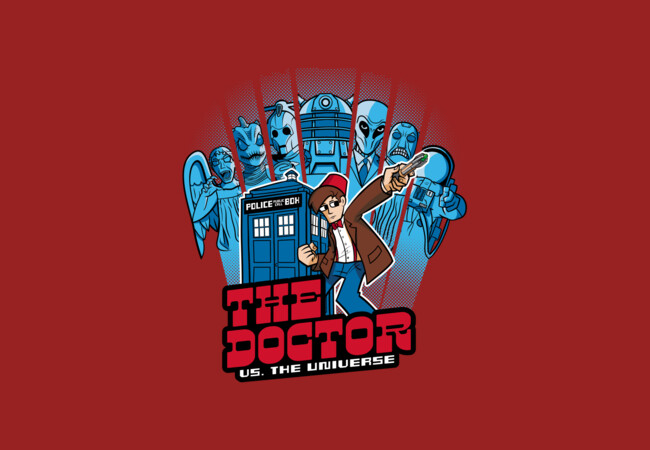 The Doctor VS. The Universe 11th Edition  Artwork