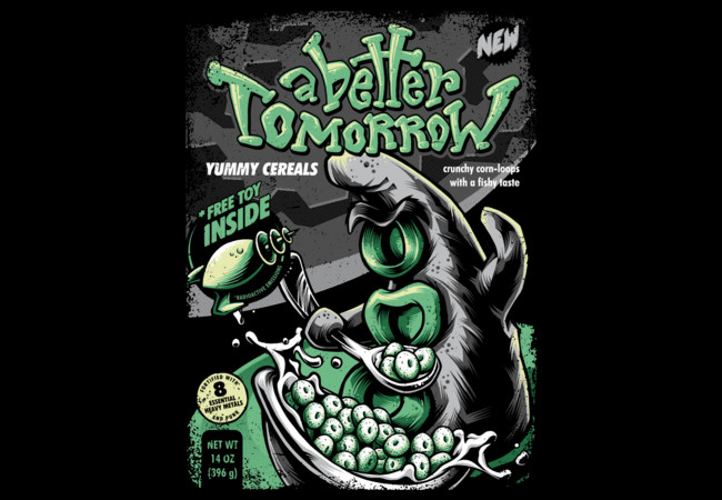 Yummy Tentacle Cereals  Artwork