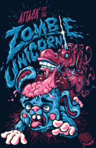 Attack Of The Zombie Unicorn