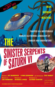 """The Sinister Serpents of Saturn VI"" Movie Po"
