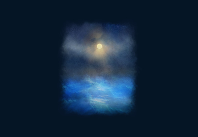 Blue water melody  Artwork