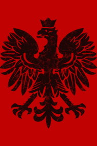 Polish Eagle Black Halftone
