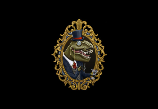 Dastardly DinoSir  Artwork