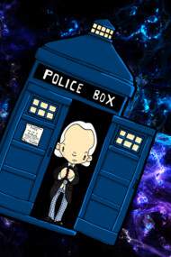 TARDIS in SPACE doctor who 1