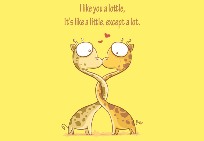 Love Lottle Giraffe  Artwork