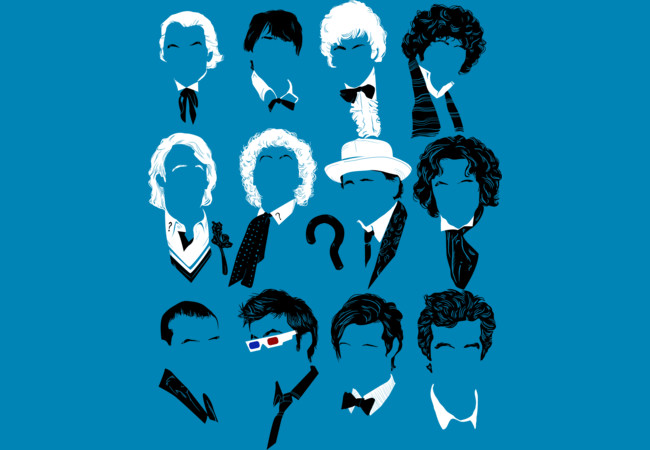 Twelve Doctors  Artwork