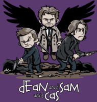 Dean and Sam... and Cas