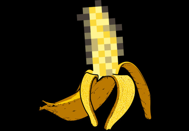 X banana  Artwork