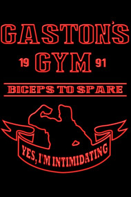 Gaston's Gym Red