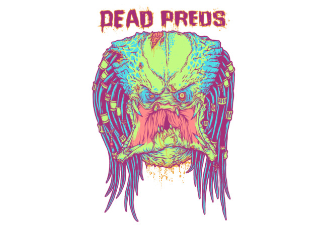 DEAD PREDS - Neon  Artwork