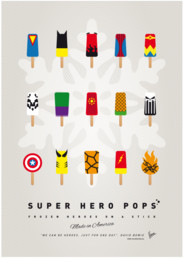 MY SUPERHERO ICE POP UNIVERS